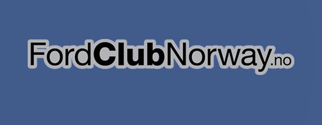 Velkommen til 'nye' Ford Club Norway
