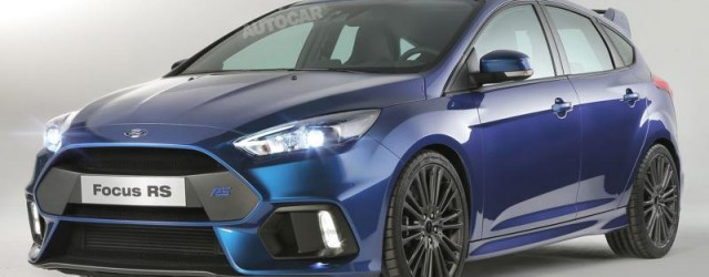 Den nye Ford Focus RS MK3 er lansert!